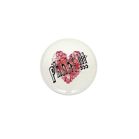 'Valentines Love - Phhht !!! Mini Button (10 pack)