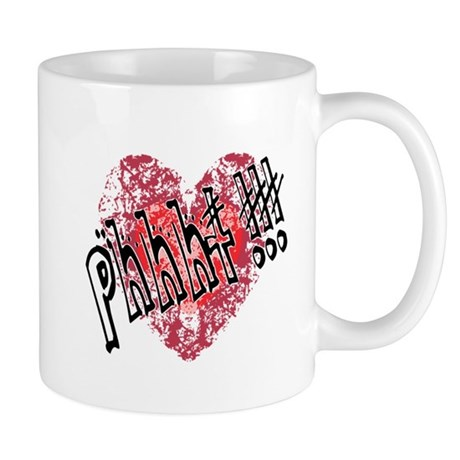 'Valentines Love - Phhht !!! Mug