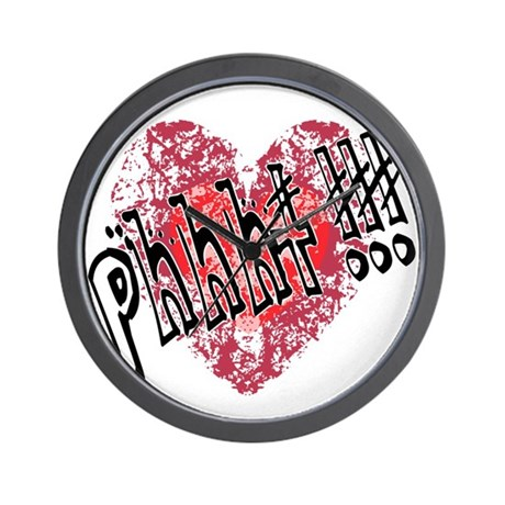'Valentines Love - Phhht !!! Wall Clock
