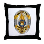 Riverdale Police Throw Pillow