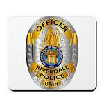 Riverdale Police Mousepad