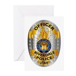 Riverdale Police Greeting Cards (Pk of 20)