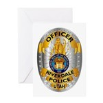 Riverdale Police Greeting Card