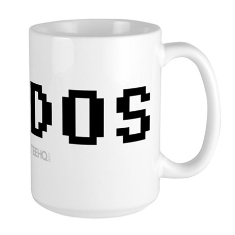 I Love Dos Large Mug
