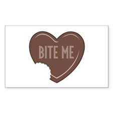"""""""Bite Me"""" Rectangle Decal"""