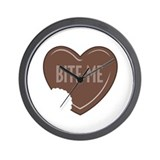 """Bite Me"" Wall Clock"