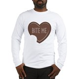 """Bite Me"" Long Sleeve T-Shirt"