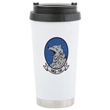 VAQ 142 Gray Wolves Ceramic Travel Mug