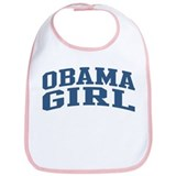 Obama Girl Nickname Collegiate Style Bib