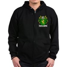 Farrell Coat of Arms Zip Hoody