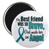 Angel 1 TEAL (Best Friend) Magnet