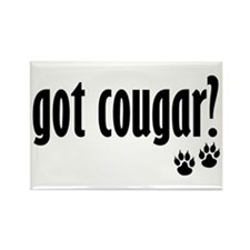 got cougar? Rectangle Magnet (10 pack)