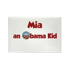 Mia - Obama Kid Rectangle Magnet