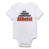 Friendly neighborhood atheist Infant Bodysuit