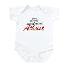 Friendly neighborhood atheist Infant Bodysuit