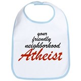 Friendly neighborhood atheist Bib