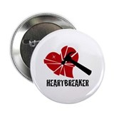 """Heartbreaker"" 2.25"" Button"
