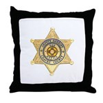 Chavez County Sheriff Throw Pillow