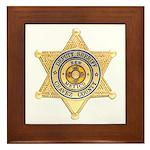 Chavez County Sheriff Framed Tile