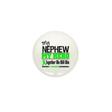 Lymphoma Hero Nephew Mini Button (10 pack)