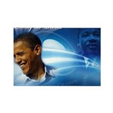 Cute Obama wins Rectangle Magnet