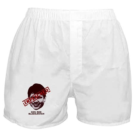 Blagojevich Impeached Boxer Shorts