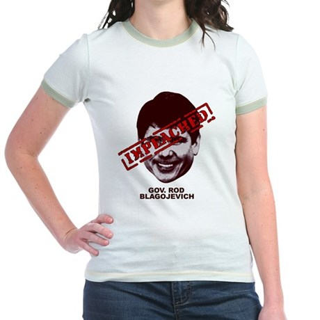 Blagojevich Impeached Jr. Ringer T-Shirt