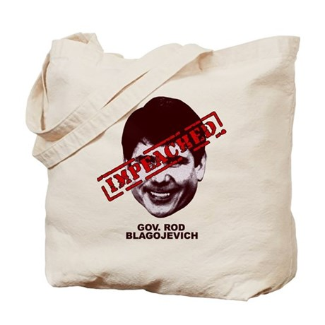Blagojevich Impeached Tote Bag
