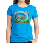 Guineas On Opal Women's Dark T-Shirt
