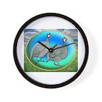 Guineas On Opal Wall Clock