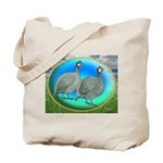 Guineas On Opal Tote Bag