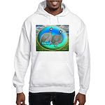 Guineas On Opal Hooded Sweatshirt