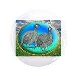 "Guineas On Opal 3.5"" Button (100 pack)"