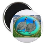 "Guineas On Opal 2.25"" Magnet (10 pack)"