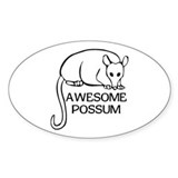 Awesome Possum Decal