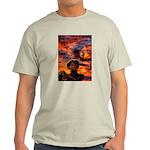 Conscious Rasta Lion Light T-Shirt