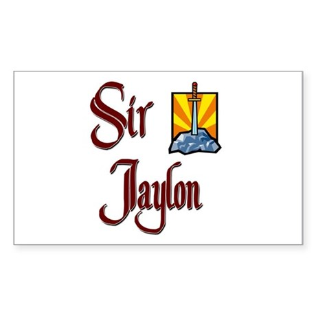 Sir Jaylon Rectangle Sticker