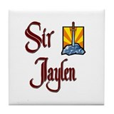 Sir Jaylen Tile Coaster