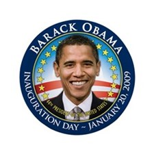"Obama Inaugural 3.5"" Button (100 pack)"