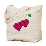 Valentine's Day Cherries Tote Bag