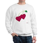 Valentine's Day Cherries Sweatshirt