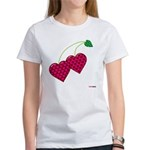 Valentine's Day Cherries Women's T-Shirt