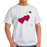 Valentine's Day Cherries Light T-Shirt