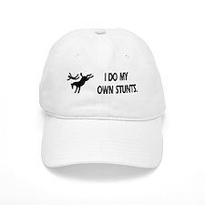 Horse I Do My Own Stunts Baseball Cap