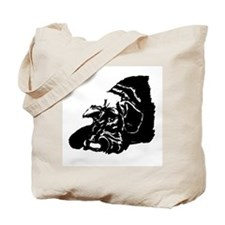 natural ear giant resting Tote Bag