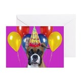 Happy Birthday boxer Greeting Cards (Pk of 20)