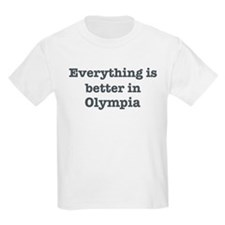 Better in Olympia Kids Light T-Shirt