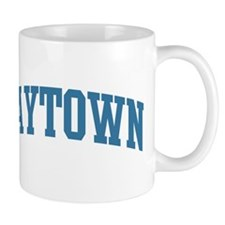 Baytown (blue) Mug