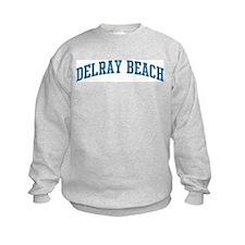 Delray Beach (blue) Sweatshirt