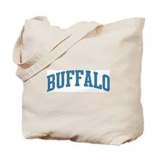 Buffalo (blue) Tote Bag